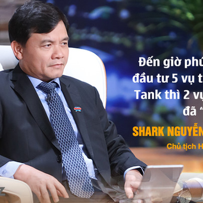 """'Bài học xương máu' khiến Shark Phú kiên định theo phong cách """"Bank Tank"""": Đầu tư vào 5 deal trên Shark Tank thì 2 startup nhận vốn thất bại và mất hút, không một lời thông báo"""