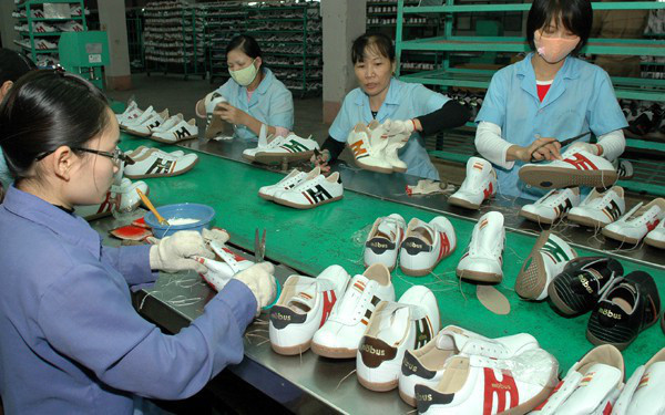 Cánh cửa xuất khẩu da giày Việt Nam vào Hoa Kỳ mở rộng hơn