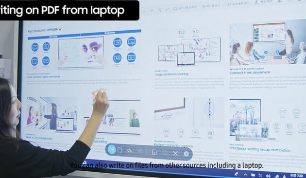 Hết thời bảng đen phấn trắng, Samsung cho ra sản phẩm bảng tương tác game hoá các bài giảng, phân phối độc quyền qua công ty con của CMC - Ảnh 2.