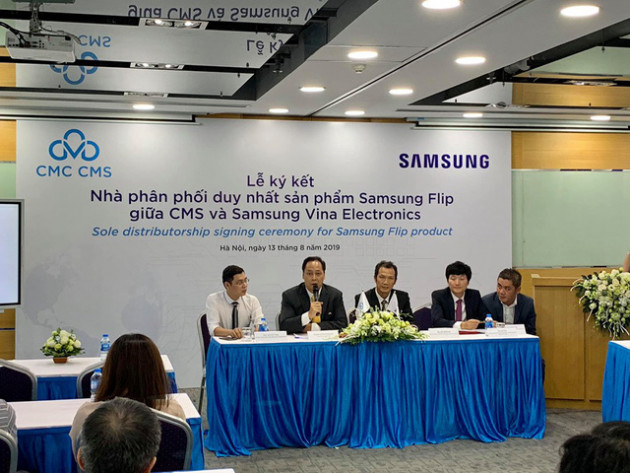 Hết thời bảng đen phấn trắng, Samsung cho ra sản phẩm bảng tương tác game hoá các bài giảng, phân phối độc quyền qua công ty con của CMC - Ảnh 4.
