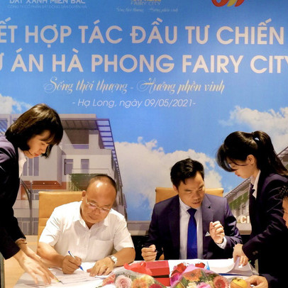 Ký kết hợp tác đầu tư chiến lược dự án Hà Phong Fairy City Hạ Long