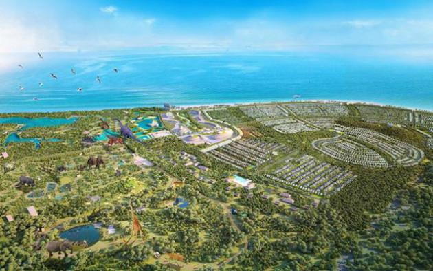 Làm rõ pháp lý siêu dự án Safari Hồ Tràm rộng 628ha - Ảnh 1.