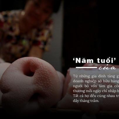 """""""Năm tuổi"""" của lợn"""