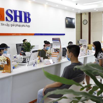 SHB báo lãi gần 3.100 tỷ đồng trong 6 tháng đầu năm, tăng 86,5% so với cùng kỳ