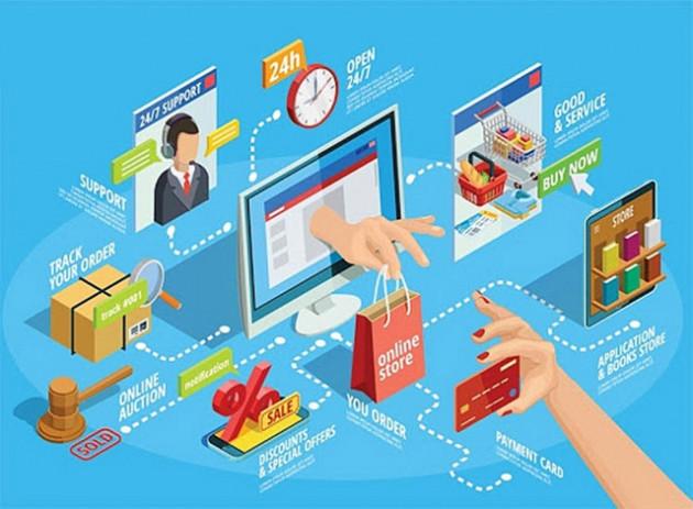 """Siết chặt hay mở lối cho thương mại điện tử: Cân nhắc """"cửa"""" cho doanh nghiệp nội - Ảnh 1."""