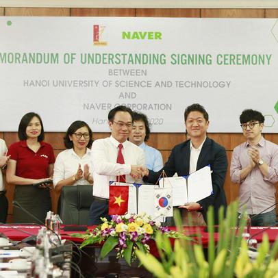 Tập đoàn Naver hợp tác với ĐH Bách Khoa Hà Nội triển khai đào tạo trí tuệ nhân tạo – AI