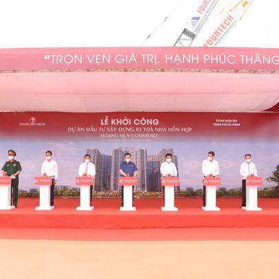 TCH khởi công dự án Hoàng Huy Commerce vốn đầu tư 5.000 tỷ đồng tại Hải Phòng