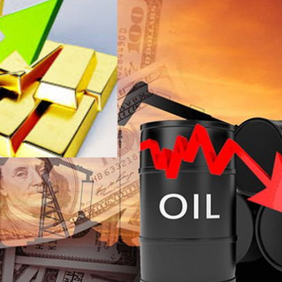 Thị trường ngày 29/4: Giá dầu thô Brent bật tăng hơn 2%, vàng thấp nhất 1 tuần