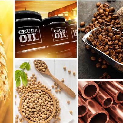 Thị trường ngày 7/8: Giá dầu, đồng, sắt thép và cà phê đồng loạt giảm, vàng thấp nhất hơn 1 tháng