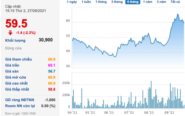 Transimex (TMS): Thị giá tăng tốt, lãnh đạo liên tục gom cổ phiếu - Ảnh 1.