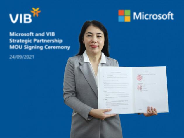 VIB hợp tác Microsoft tạo bứt phá tốc độ dịch vụ và đổi mới sáng tạo - Ảnh 2.