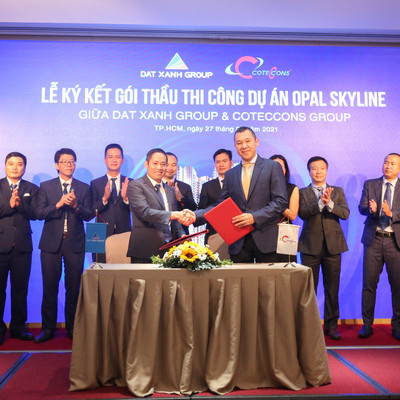 Cotecccons hợp tác cùng Đất Xanh Group xây dựng dự án Opal Skyline