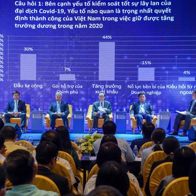 """""""Nỗ lực bền bỉ của doanh nghiệp là yếu tố quan trọng nhất giúp Việt Nam trụ vững"""""""