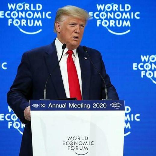 Trump khoe thành tựu kinh tế Mỹ tại Davos